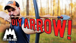 $3 DIY Arrow | PVC ArrowHead!