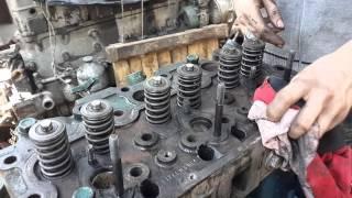 ГБЦ судового дизеля 3VD4VD 14,5 / 12 -  Шенибек. Мини-обзор.(Дефектация, ремонт судовых систем и арматуры, продажа судовых двигателей и запчастей к ним - ООО