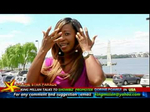 SALONE STAR PARADE KING MILLAN TALKS SHOW BIZ PROMOTER DORINE PAOWUI IN USA  Part 1 JUNE 2017