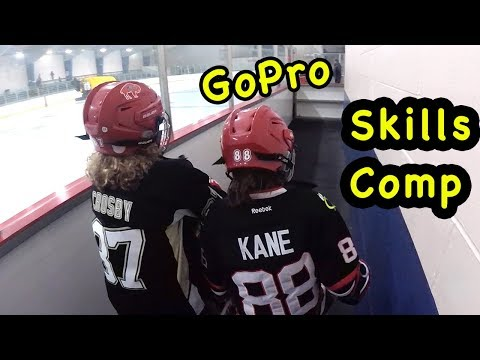 Kids HocKey  GoPro Fun Skills Competition Practice