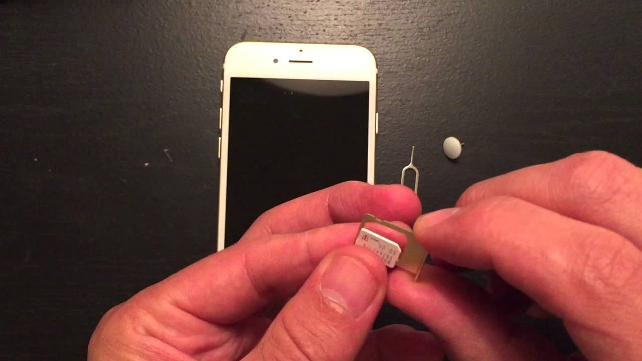 iPhone 6S / Plus : How to Insert & Eject Sim Card