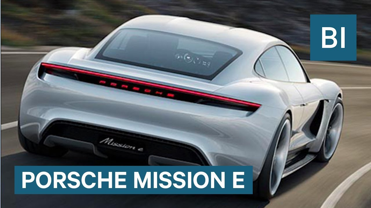 porsche s stunning tesla rival will arrive in 2019 and cost 85 000