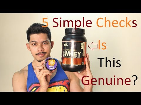 5 Simple Checks for Authenticating ON 100% Whey Gold Standard |Set Wet Hair Wax Review Teaser |INDIA