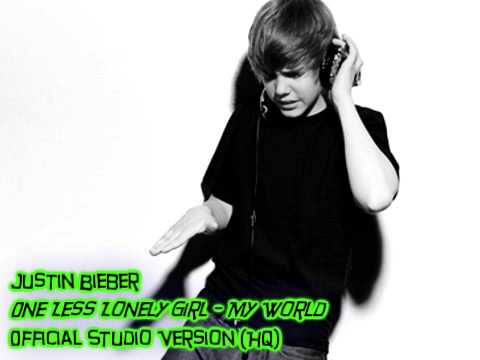 One Less Lonely Girl (Studio Version - HQ) - Justin Bieber ...