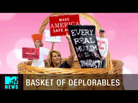 What's Inside Donald Trump's Basket of Deplorables? | MTV News