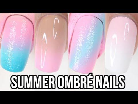 10 EASY Ombré Nails For Summer! | Ombré Nail Art Compilation