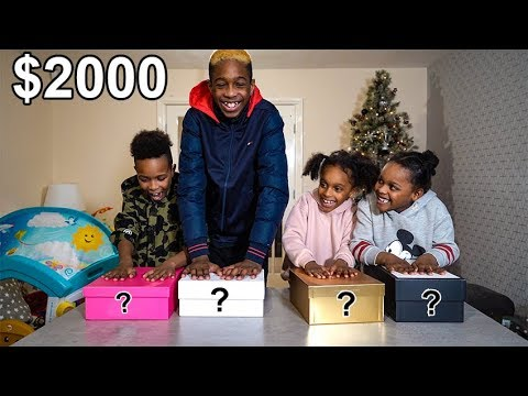Last to Leave the Mystery Box Wins $2000