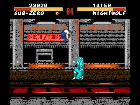 Mortal kombat ii (v1. 1) rom super nintendo (snes) | emulator. Games.