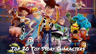 Top 20 Toy Story Characters