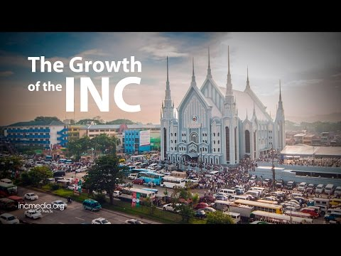 Learn more about the growth of the Iglesia Ni Cristo, Church Of Christ