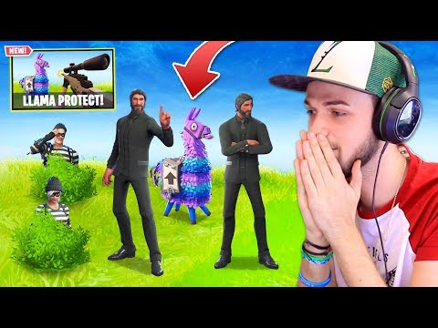 *NEW* PROTECT THE LLAMA Custom Mode in Fortnite: Battle Royale!
