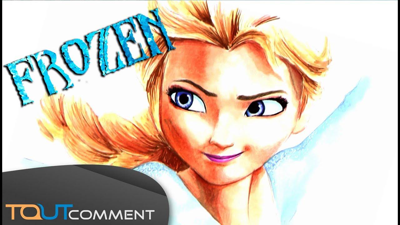 Dessiner elsa la reine des neiges frozen comment - Comment dessiner elsa ...
