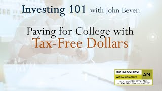 Paying for College with Tax-Free Dollars