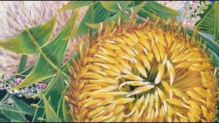 Come A Little Bit Closer - Banksia Baxteri- By HSIN LIN ART / @Helloinnerpeace / Timelapse Art Video