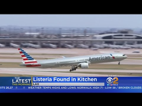 Listeria Found In American Airlines LAX Kitchen