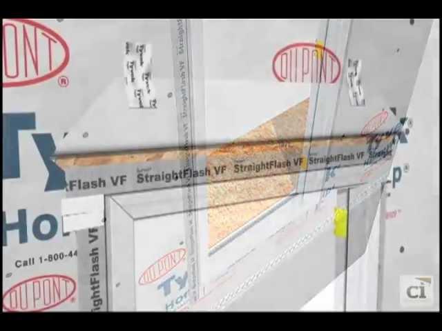 Flash a Brick Mold Door with StraightFlash™ VF | DuPont™ Tyvek®