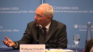 CGEG - Europe: The Current Situation and the Way Forward with Wolfgang Schäuble