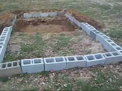 How to build a koi pond youtube for Making a koi pond