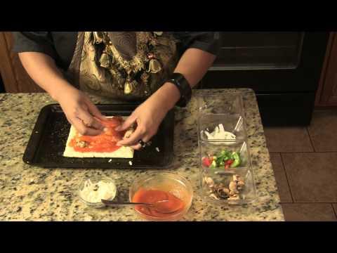 Pizza Recipe: How to Make Mushroom Pepper Pizza