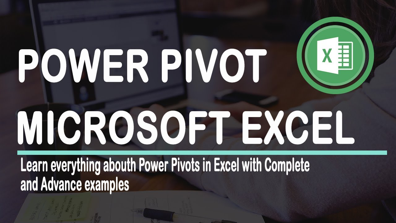 PowerPivot in EXCEL 2016 Advance with Examples