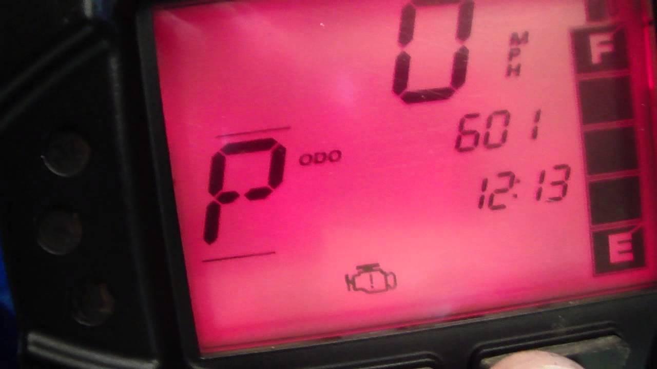 M4H00201 2013 Polaris Sportsman 850 XP EPS engine stutter