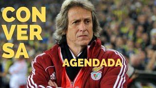 Imprensa portuguesa fala em Jesus no Benfica. Técnico e Flamengo se reunirão na próxima semana