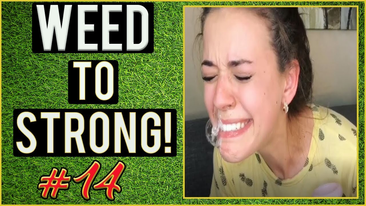 Cannabis To Strong! WEED FUNNY FAILS AND WTF MOMENTS! #14