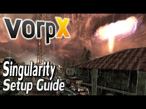 Singularity VorpX Guide - HTC VIVE, Oculus Rift & SteamVR