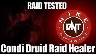 [DnT] Condition Damage Druid Healer Build Guide for Raids