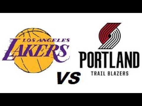 Los Angeles Lakers vs Portland Trailblazers NBA Highlights (OCTOBER 19TH 2018) - 동영상