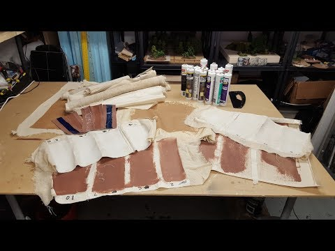 Terrain Lab - Working out the ratios with Acrylic Filler
