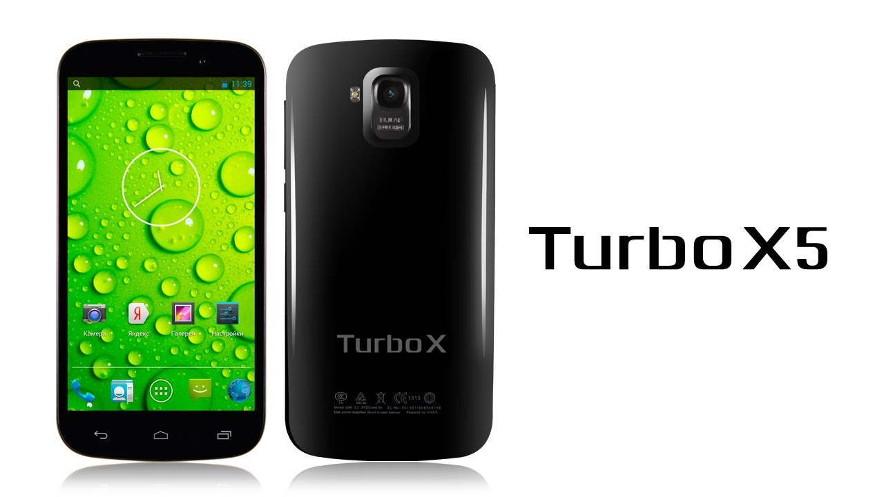 Обзор смартфона Turbo X5 - YouTube