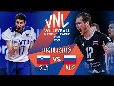 Download Slovenia vs. Russia - FIVB Volleyball Nations League - Men - Match Highlights, 11/06/2021