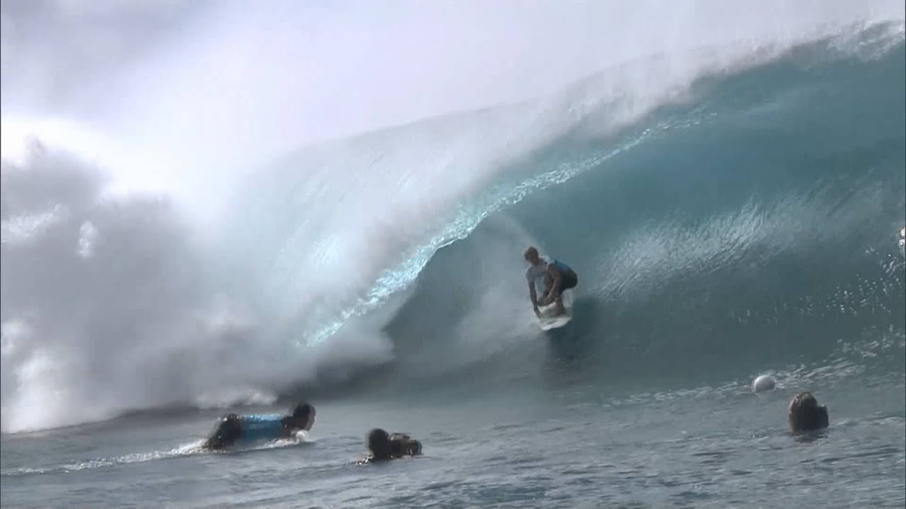eb75c573be 2011 Billabong Pipe Masters - Day 1 Rockstar Wave of the Day - YouTube