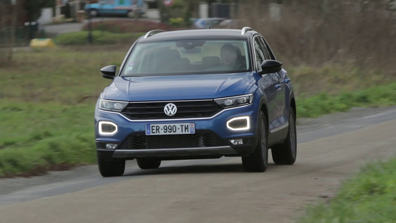 essai volkswagen t roc 1 0 tsi 115ch lounge youtube. Black Bedroom Furniture Sets. Home Design Ideas