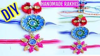 How To Make Rakhi At Home Rakshabandhan Tutorial SuperPrincessjo