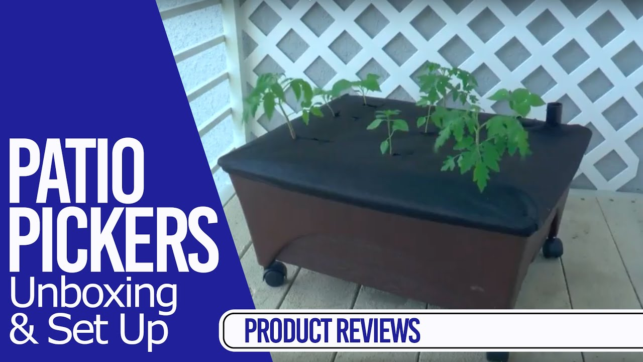 patio pickers unboxing and set up product reviews