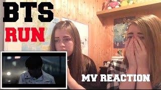 BTS - RUN // MV REACTION  (RUNwithBTS)