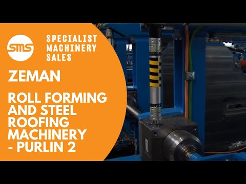 Zeman Roll Forming & Steel Roofing Machinery | Specialist Machinery Sales