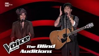 "Uramawashi ""Riptide"" - Blind Auditions #3 - The Voice of Italy 2018"