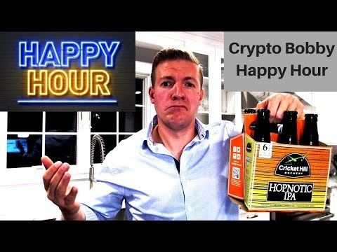 Crypto Happy Hour - $8,000 Bitcoin, Coinbase Custody = Big M