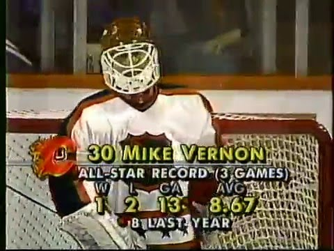 1991 NHL All-Star Game, Chicago Stadium (first intermission, second period)