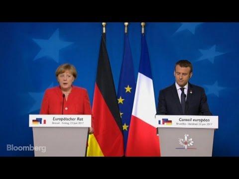 Merkel Says EU Treaty Changes May Be Needed