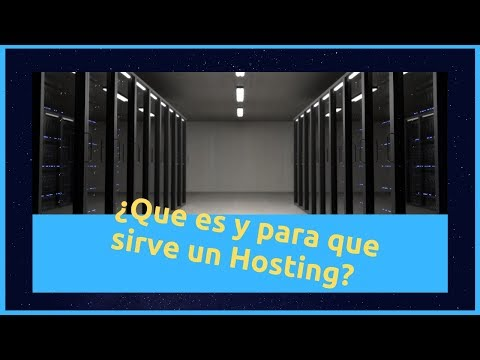 ??Que es un Hosting ??  Contratar Hosting o Servidor Web