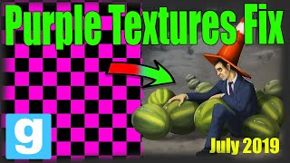Gmod texture fix 2019