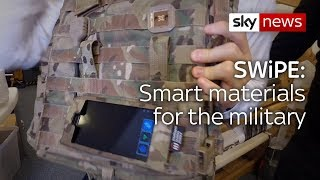 Swipe | Smart materials for the military & crowdfunded training for the homeless