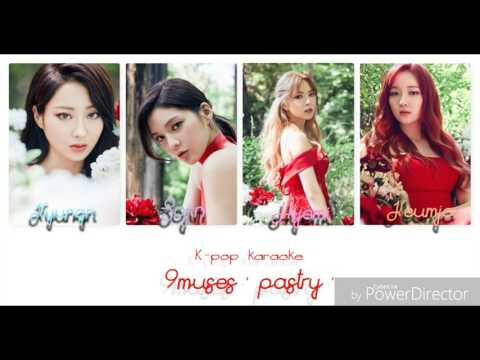 NINE MUSES (9muses) ' Pastry ' lyrics color coded