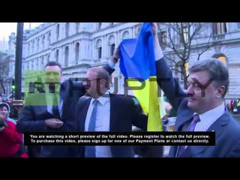 UK: Klitschko rallies Downing Street for tougher sanctions against Russia