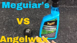 Meguiar's Hybrid Ceramic Wax VS Angelwax Enigma Ceramic Wax!! (What are they and how do they work?)
