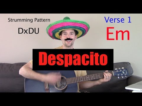 "How to Play ""Despacito"" on Guitar"